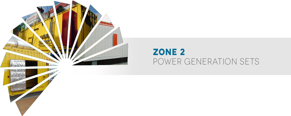 Zone 2 Power Generation sets